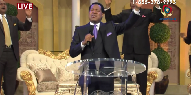 THE SECOND SESSION OF THE GLOBAL PRAYER WEEK WITH PASTOR CHRIS IS LIVE.