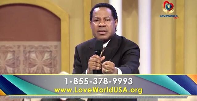 YOU'RE A KING; SAY THE WORD! – PASTOR CHRIS OYAKHILOME.