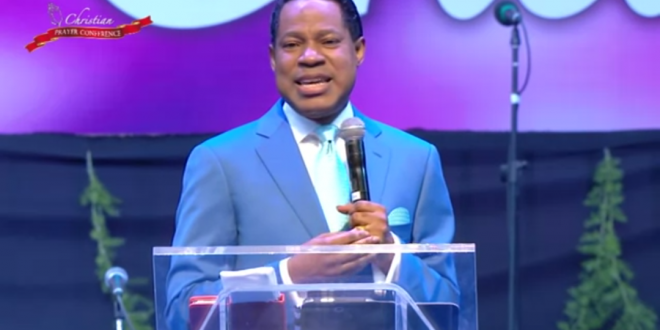 LIVE FROM INSIDE OUT – PASTOR CHRIS OYAKHILOME.