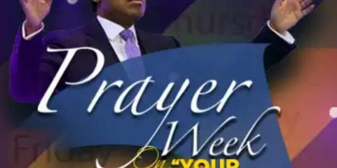 OUR BOLDNESS IN PRAYER – PASTOR CHRIS OYAKHILOME.