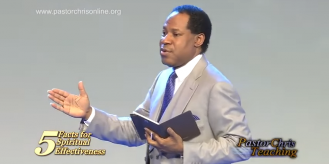 5 FACTS FOR SPIRITUAL EFFECTIVENESS – PASTOR CHRIS OYAKHILOME.